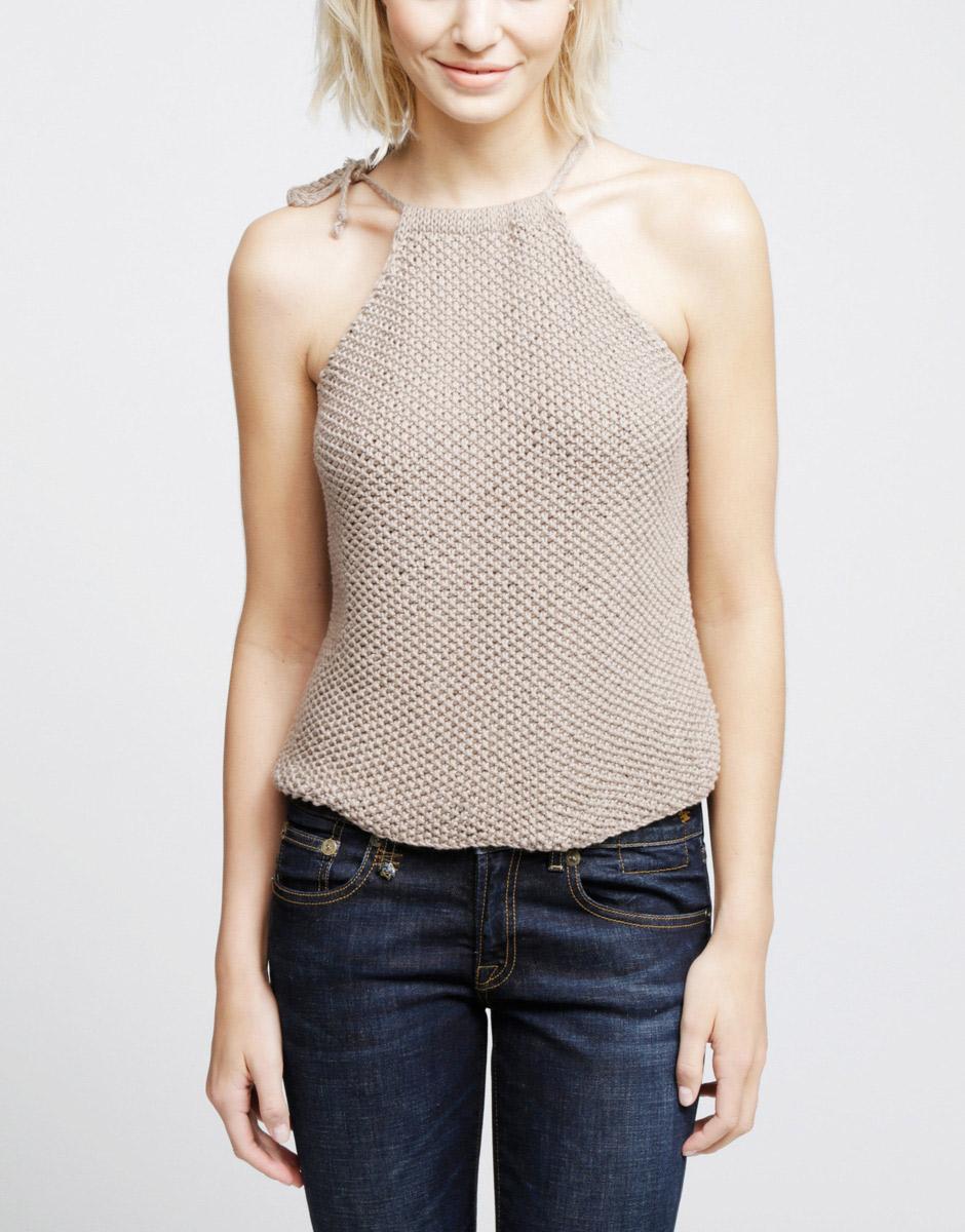 Wool & The Gang - Débardeur tricoté (58 €)