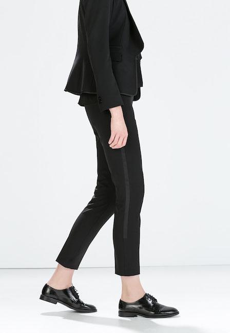 Zara - Pantalon de smoking (39,95 €)